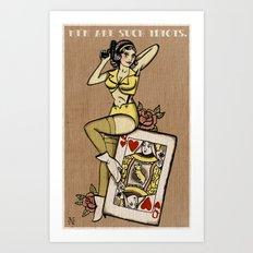 My Funny Valentine Art Print