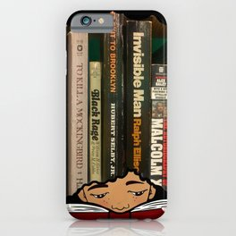 Lost in the pages iPhone Case