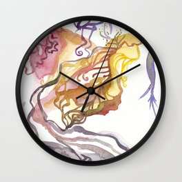 Iceland Abstracted: Krafla Wall Clock