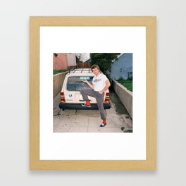 Mac Demarco Italian Meme Framed Art Print