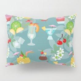 Blue Hawaii Cocktail Hour Pillow Sham