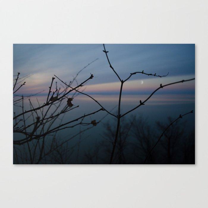 Sad Sunset Canvas Print