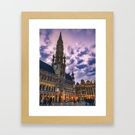 Grand Place Framed Art Print