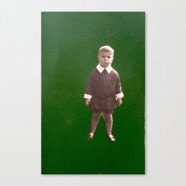 Green nostalgia Canvas Print
