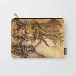 The Hatter and the Hare Carry-All Pouch