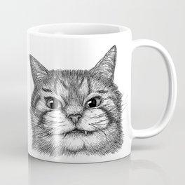 Toothy Cat Coffee Mug