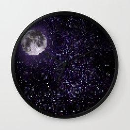 stars and moon Wall Clock
