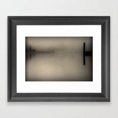 Kilby in Sepia Framed Art Print