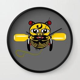Hei Tiki Bee Toy Wall Clock
