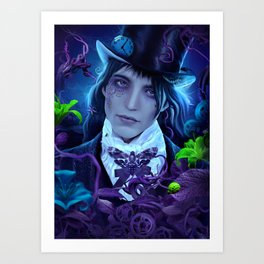 Unhinged Art Print
