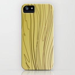 zebra stripes zebra skin  gold iPhone Case