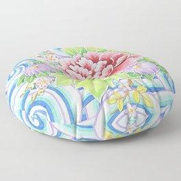 Kimono Bouquet Floor Pillow