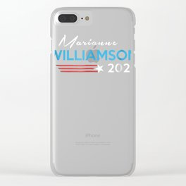 Marianne Williamson for President 2020 Election t-shirt Clear iPhone Case