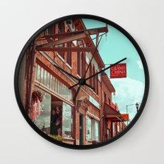 South Tacoma architecture Wall Clock