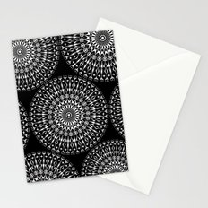 Geometries in white. Stationery Cards