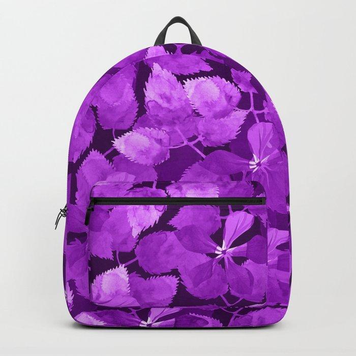 watercolor Botanical garden IV Backpack