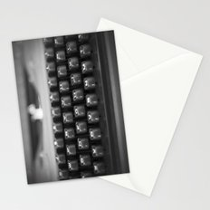 in black and white Stationery Cards