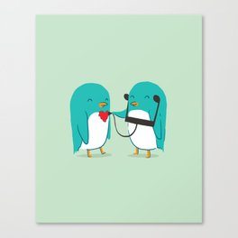 The sound of love Canvas Print
