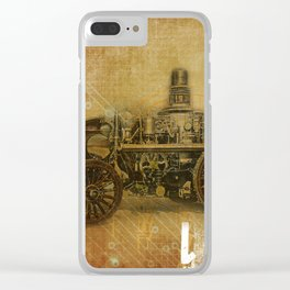 Fire Engine Clear iPhone Case