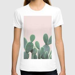 Cactus on Blush T-shirt