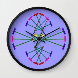 Croquet - Mallets,Balls and Hoops Design Wall Clock