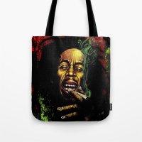 marley Tote Bags featuring MARLEY - MARLEY by Raisya