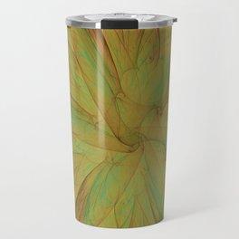 Fall Blossom Fractal Travel Mug