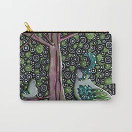 Forest Springtime Birds Carry-All Pouch