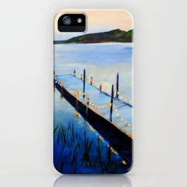 Evening at the Lake iPhone Case