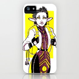 Travelling Witch iPhone Case
