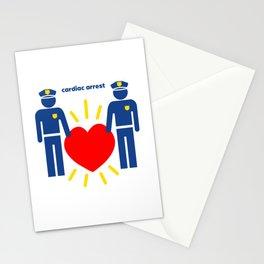 Cardiac Arrest Stationery Cards