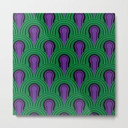 Room 237 The Shining Carpet Pattern Metal Print