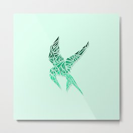 Mockingjay 2 Metal Print