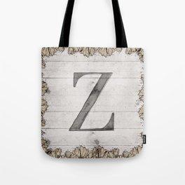 Neutral Monogram Z Tote Bag