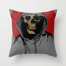 Skullboy Returns Throw Pillow