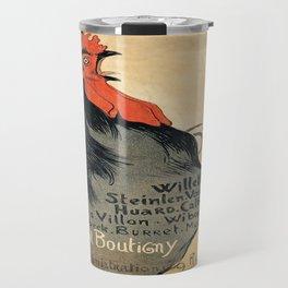 Vintage poster - Cocorico Travel Mug