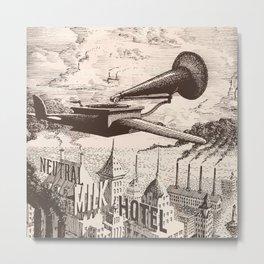 Neutral Milk Hotel - Box Set Artwork Metal Print