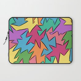 tetra-coloured leaves Laptop Sleeve