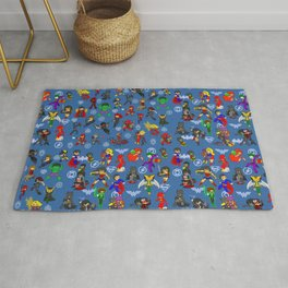 Super Hero Combo collection Rug