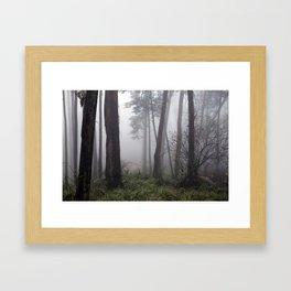 Encroaching Framed Art Print