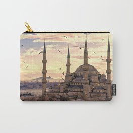 Sultan Ahmed Mosque Istanbul Turkey Ultra HD Carry-All Pouch