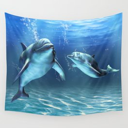 Dolphin Dream Wall Tapestry