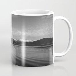 Lake Monochrome Silence I Coffee Mug
