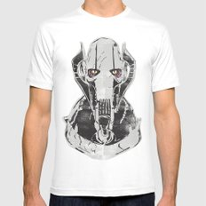 General Grievous Mens Fitted Tee White MEDIUM