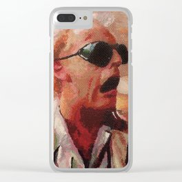 Back to the Future: Doc Brown Clear iPhone Case
