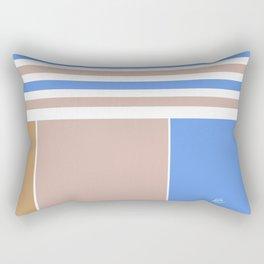 French Stripes #society6 #summer #stripes #beach #chic #pattern #summergift #giftideas Rectangular Pillow