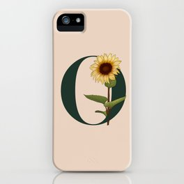 Letter O iPhone Case