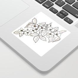Vine Roses Sticker