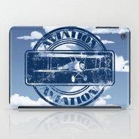aviation iPad Cases featuring Retro Aviation Art by MacDonald Creative Studios