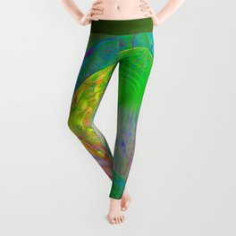 Gateway to other worlds Leggings